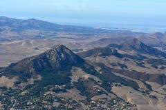 Le sorelle aeree vescovi della foto sette alzano San Luis Obispo verticalmente la California Fotografia Stock Libera da Diritti