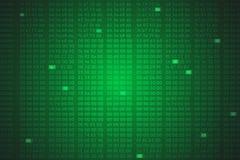 Le sortilège code le fond Image stock