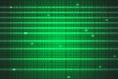 Le sortilège code le fond Image libre de droits
