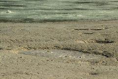 Le soufre de Pomezia près de Rome en Italie images libres de droits