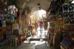 Le Souk à Jérusalem Image libre de droits