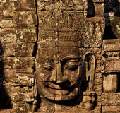 Le sourire de Budha Photo libre de droits