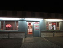 Le sous Président Obama de boutique rendu visite en Edison, NJ Etats-Unis Image libre de droits