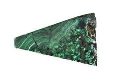 Le spécimen de malachite est une pierre minérale verte pour font chanceux et charmant dans la vie images stock