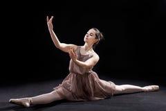 Le spaccature della ballerina Fotografia Stock Libera da Diritti