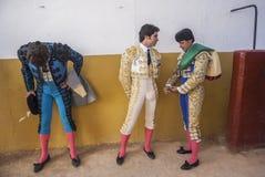 Le spe espagnol de toréador Cayetano Rivera et de Francisco Rivera Photo stock