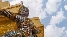 Le special de la statue de géants avec le tronc d'éléphant Image libre de droits