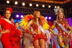 Le spectacle pompeux de beauté international de cinquante-et-unième coup manqué 2011 Photographie stock libre de droits