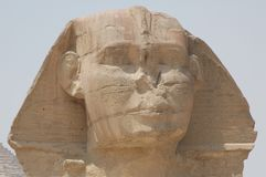 Le sphinx de Gizeh photo libre de droits