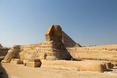 Le sphinx grand Images libres de droits