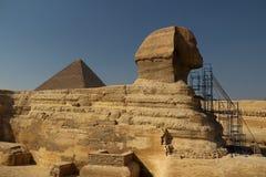 Le sphinx grand Photos libres de droits