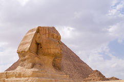 Le sphinx grand Images libres de droits