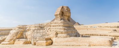 Le sphinx grand en Egypte photos stock