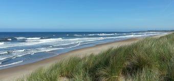 Le spiagge pittoresche di Northumberland Immagini Stock