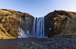 Le Splender de Skogarfoss, Skogar, Islande photo stock