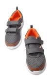Le sport de bébé chausse des paires Photos stock