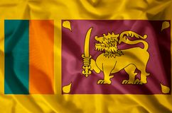 Le Sri Lanka illustration stock