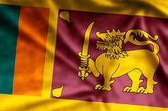 Le Sri Lanka illustration de vecteur