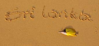 Le Sri Lanka Images stock