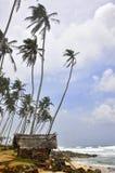 Le Sri Lanka, plage d'Unawatuna Photo stock