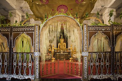 Le Sri Lanka - temple de la dent Images libres de droits