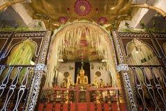 Le Sri Lanka - temple de la dent Photo libre de droits