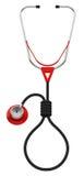 Le stéthoscope Image libre de droits