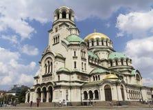 Le St Alexander Nevsky Cathedral Photographie stock libre de droits