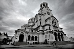 Le St Alexander Nevsky Cathedral Photos libres de droits