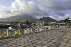 Le St-Kitts Photographie stock libre de droits