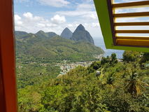 Le St Lucia Photographie stock