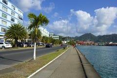 Le St Lucia, des Caraïbes Images libres de droits