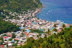 Le St Lucia - le Soufriere Image stock