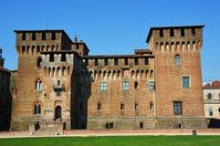 Le St médiéval George Castle dans Mantua Mantova, Italie photo libre de droits