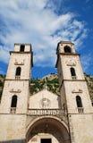 Cathédrale de Kotor dans Montenegro. photo libre de droits