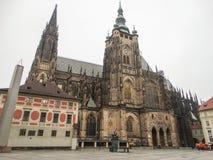 Le St Vitus Cathedral Images libres de droits