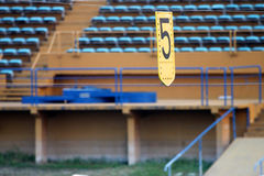 Le stade image stock