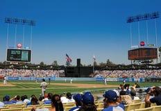 Le stade de Dodger Photos libres de droits