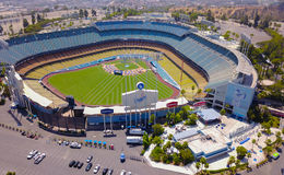 Le stade de Dodger Photos stock