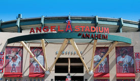 Le stade de l'ange d'Anaheim Images libres de droits