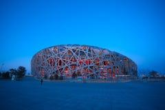 Le stade de national de Pékin Image libre de droits