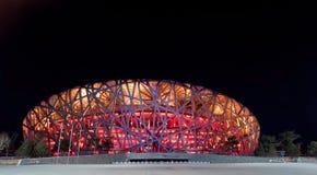 Le stade de national de Pékin Images libres de droits