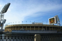 Le stade de Petrovsky, St Petersburg, Russie Photo stock