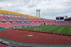 Le stade de Rajamangala est le stade national de la Thaïlande Image libre de droits