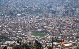 Le stade de Viev est Estadio Libertador Simon Bolivar dans La Paz, Bolivie photo stock