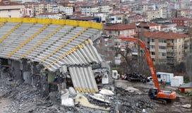 Le stade de Yens d'Ali Sami a été démoli. Photos libres de droits