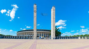 Le Stade Olympique à Berlin Photos libres de droits
