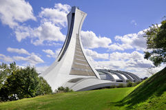 Le stade olympique de Montréal Photo stock