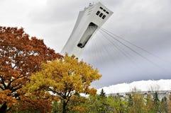 Le stade olympique de Montréal Image stock