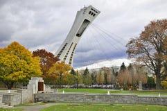 Le stade olympique de Montréal Photos stock